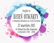 Dzień otwarty w Hospicjum Domowym im. Cicely Saunders 22 września 2017 r.