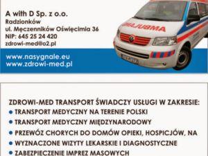 Transport medyczny 24h